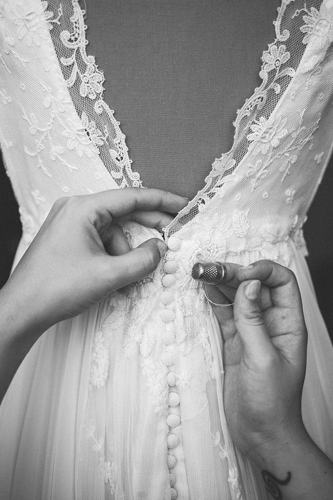 Laura Escribano: novias a medida