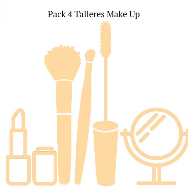 PACK 4 TALLERES MAKE UP