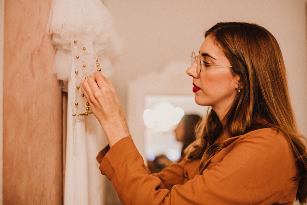 Ángela Pedregal presenta su atelier