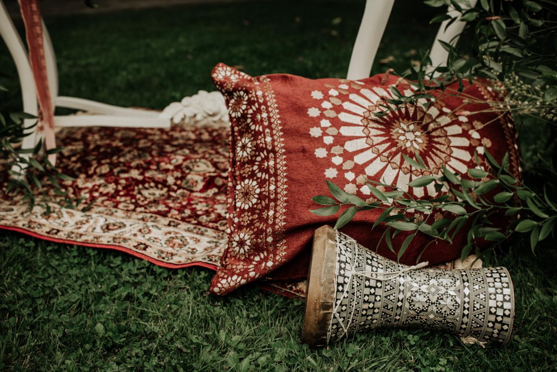 Un toque árabe para una boda en el País Vasco
