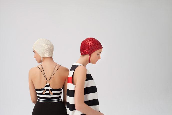 Invitadas: rayas y minimalismo
